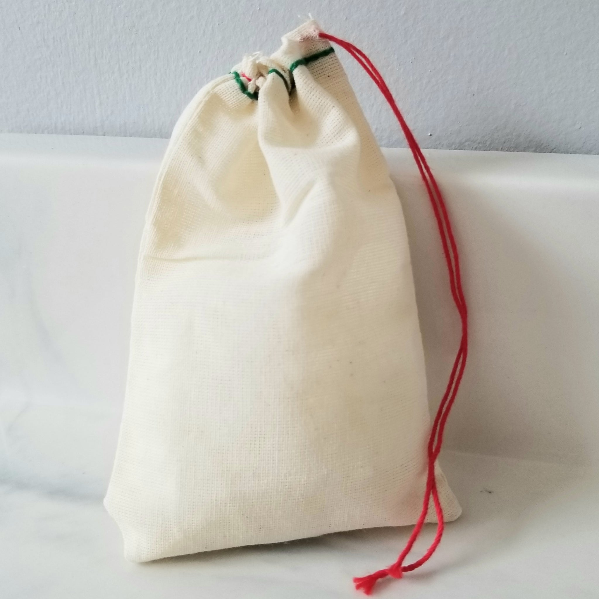 Healthy Glow |  Cotton Muslin Soap Bag
