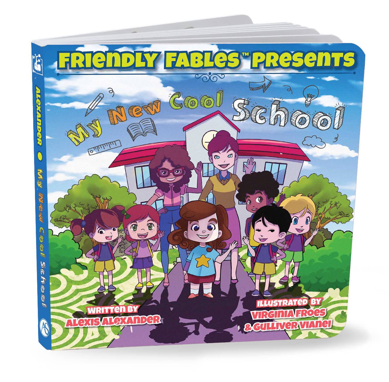 Friendly Fables | My Cool New School | 088 - 0105