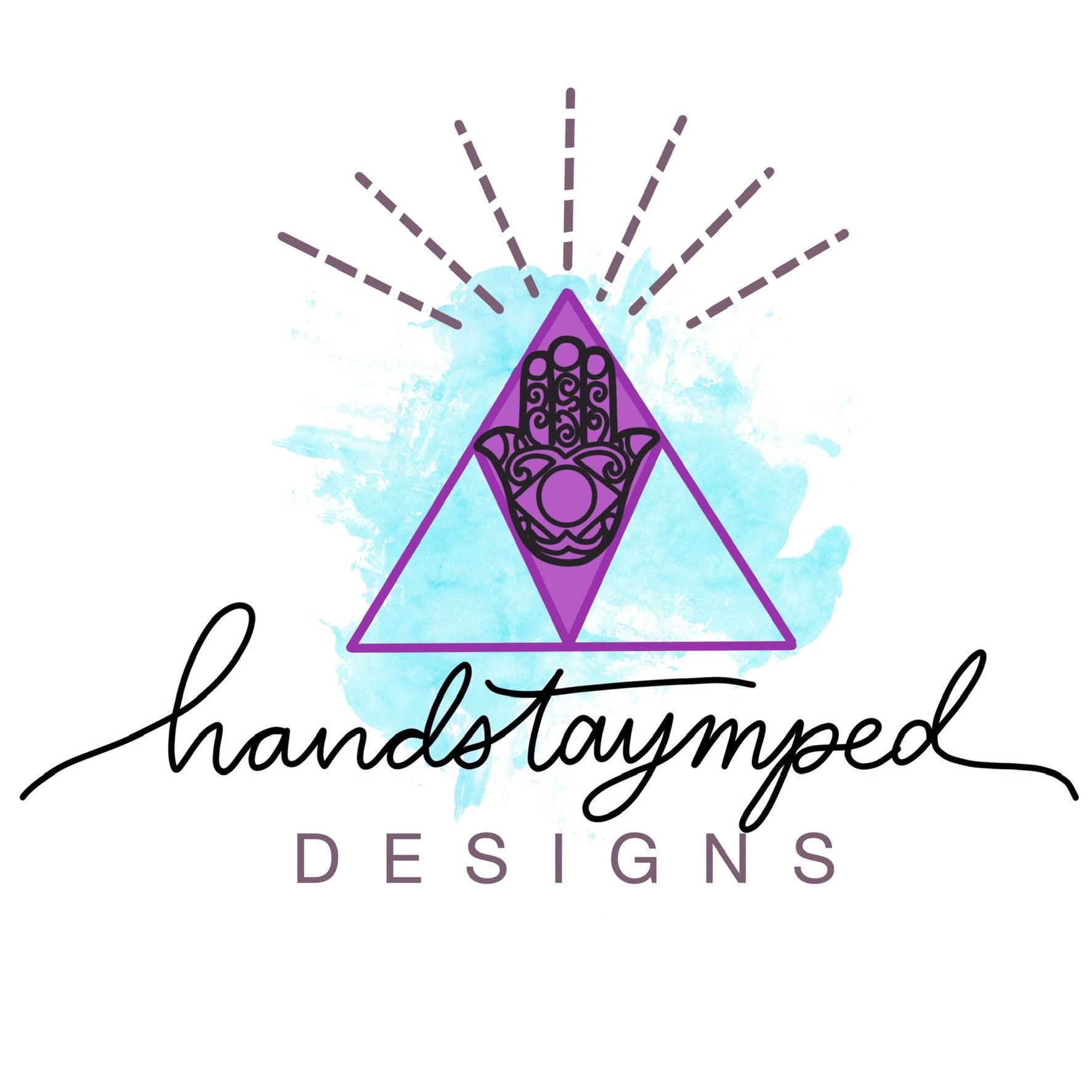 HandsTAYmped Designs | Bronze Washer Keychains