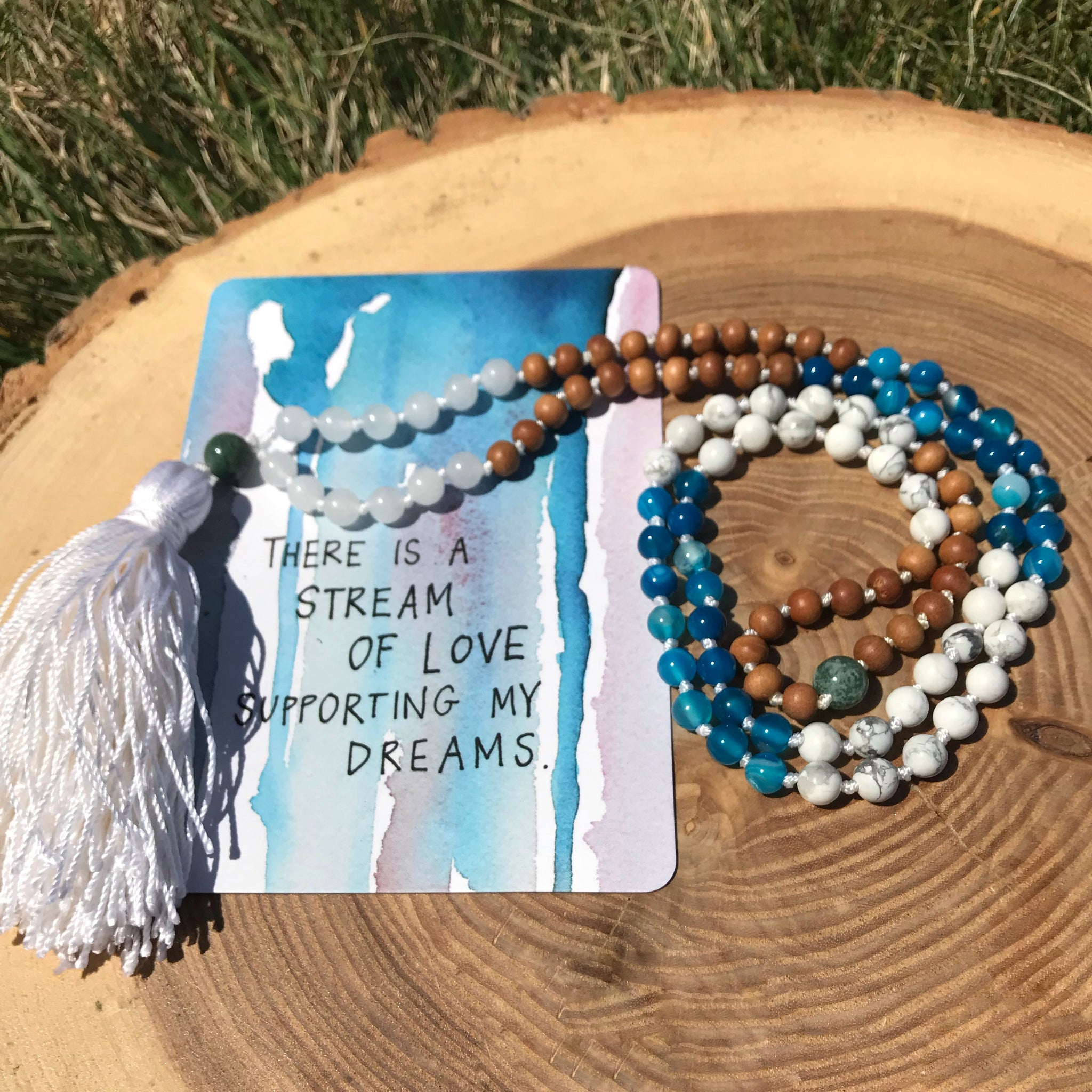 Knotted Intentions | The Serenity Mala Collection