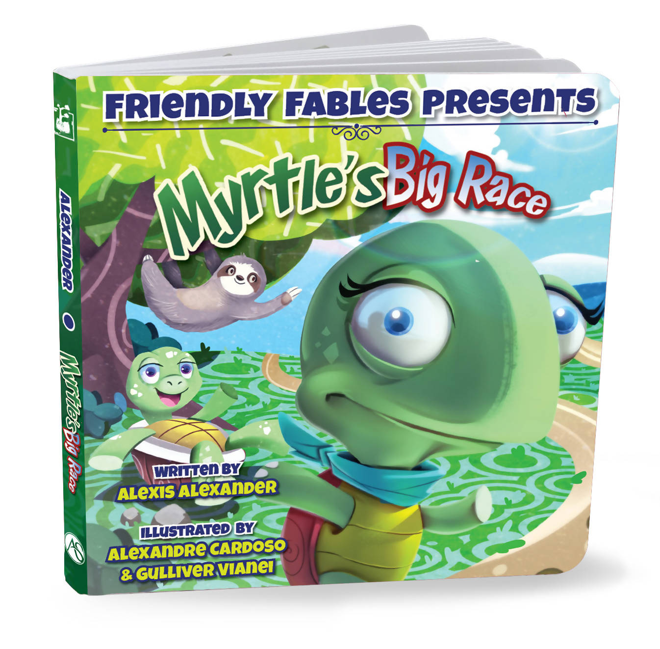 Friendly Fables | Myrtle's Big Race | 088 - 0108