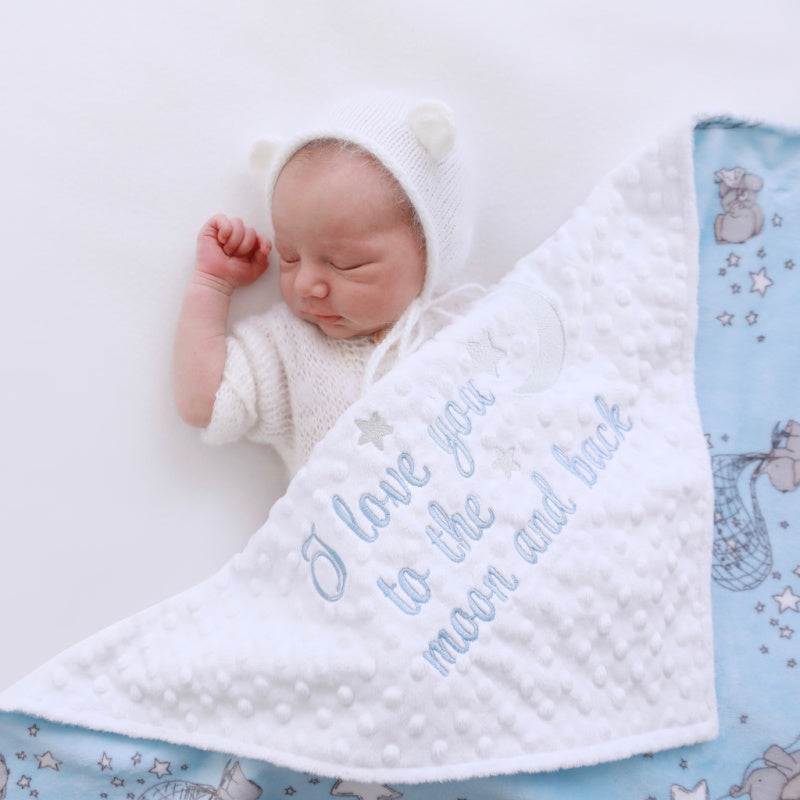 Sweet EverGray Baby | Cuddle Minky Blankets