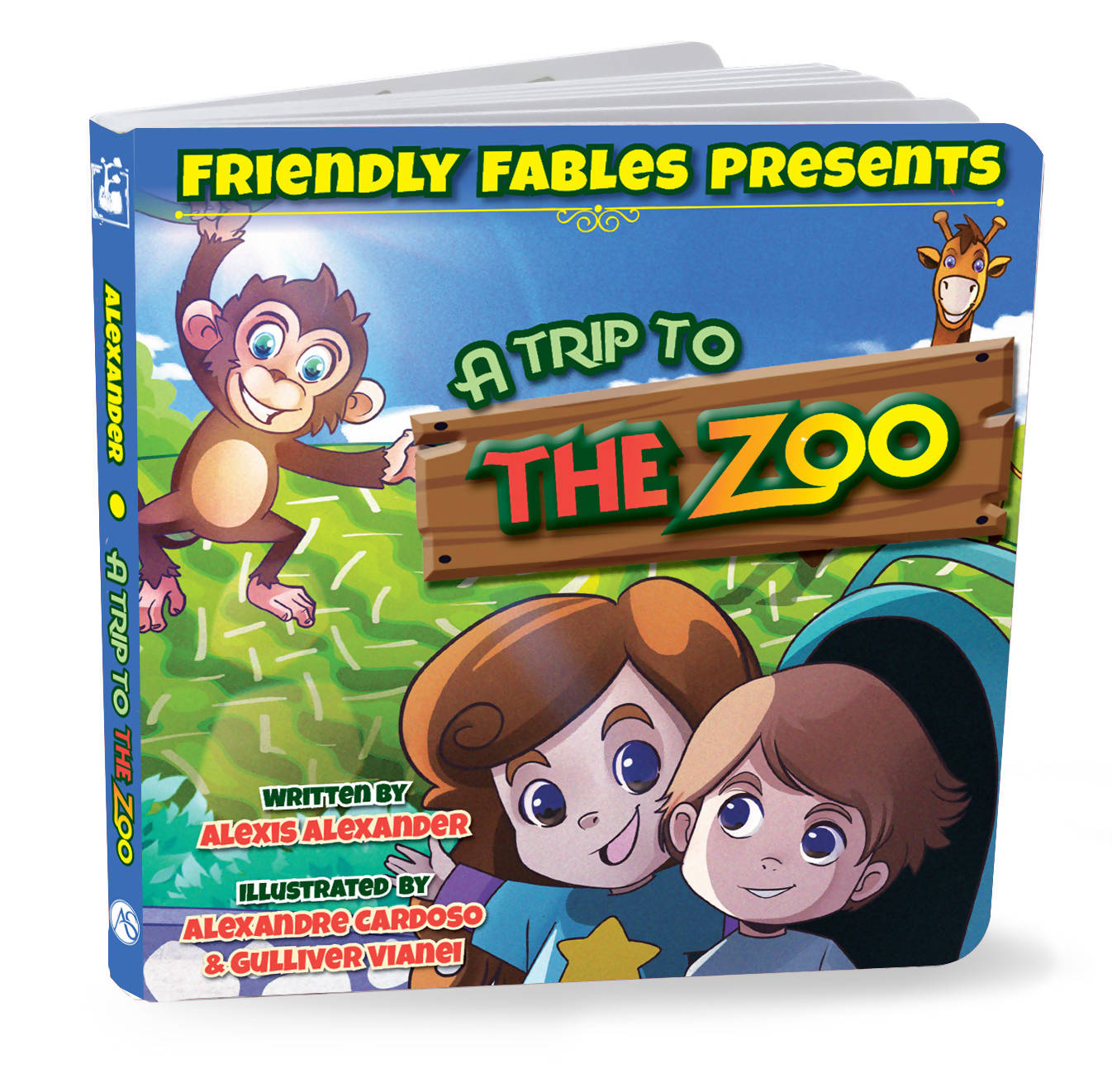 Friendly Fables | A Trip To The Zoo | 088 - 0104