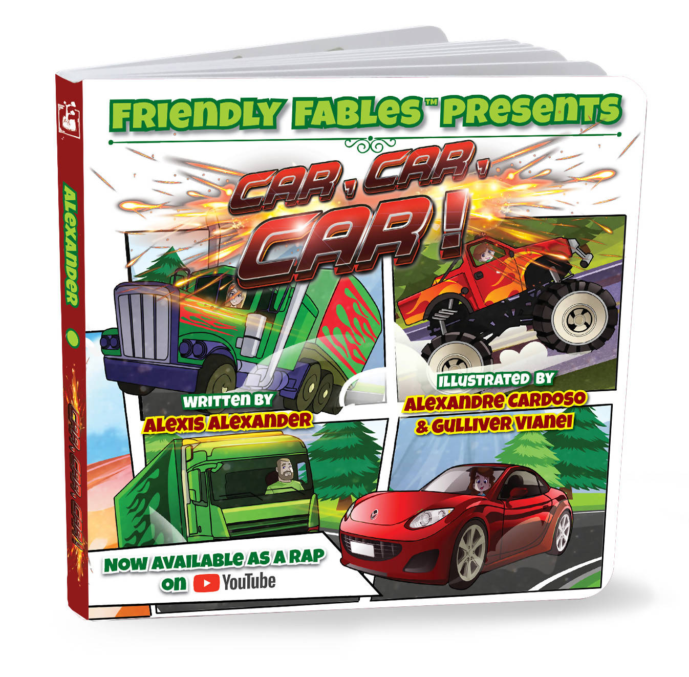 Friendly Fables | Car, Car, Car | 088 - 0103