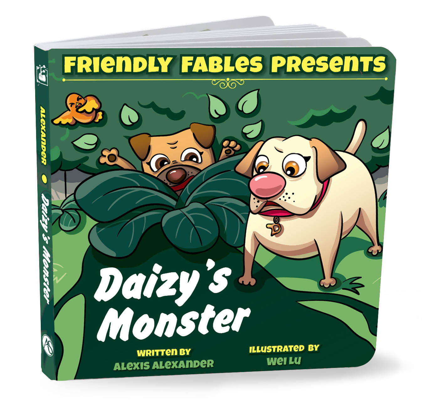 Friendly Fables | Daizy's Monster | 088 - 0109