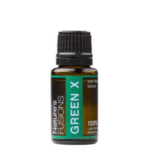 Green-X Oral Health Essential Oil blend - 15ml