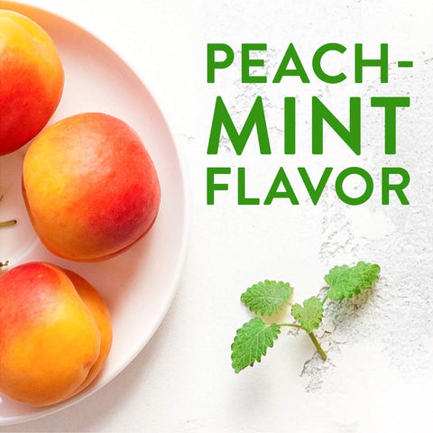 Peach Mint White Balsamic - 375ml