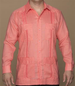 The Classic Guayabera - Long Sleeve