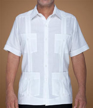 Load image into Gallery viewer, Classic Cotton Guayabera - Short Sleeve