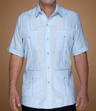 Load image into Gallery viewer, Classic Cotton Guayabera (Short Sleeve)