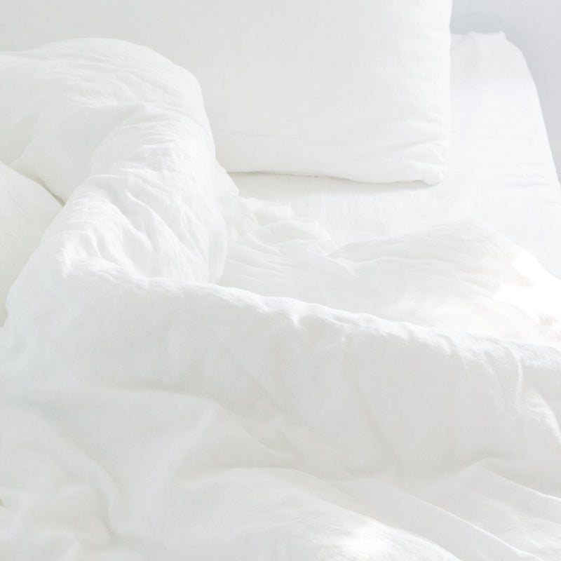 Fitted Bed Sheet in Cloud White