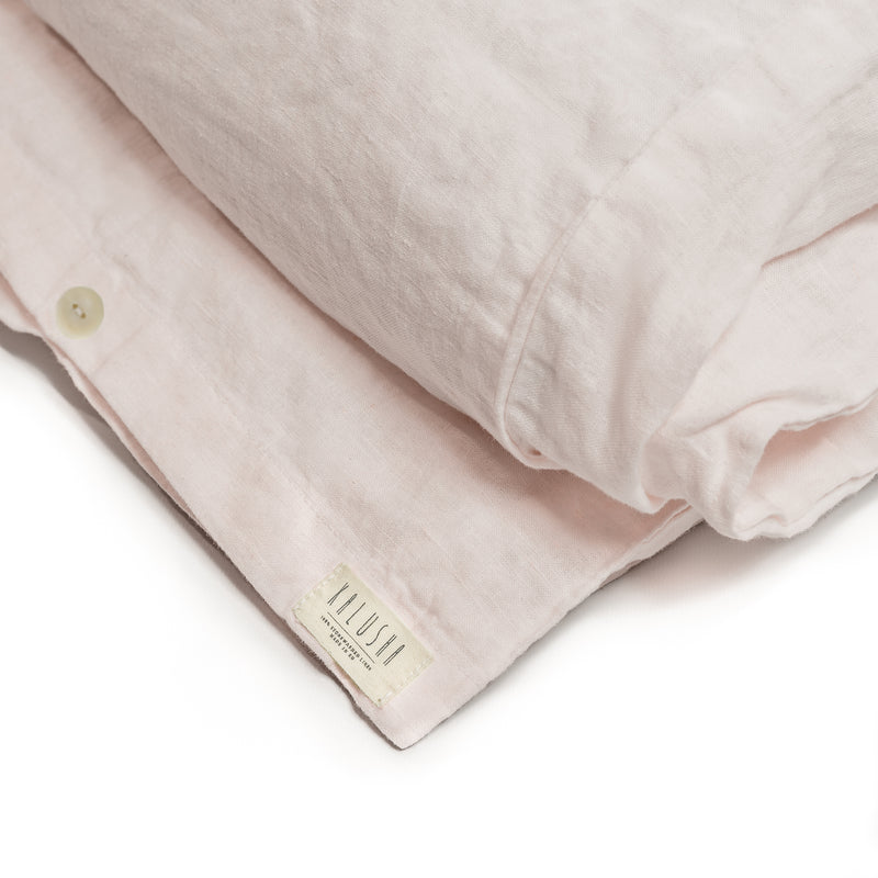 Bedding Set in Petal Pink