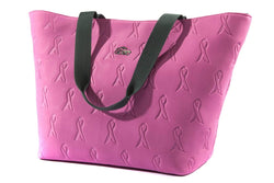 ABEO ACCESSORIES Pink Ribbon Tote