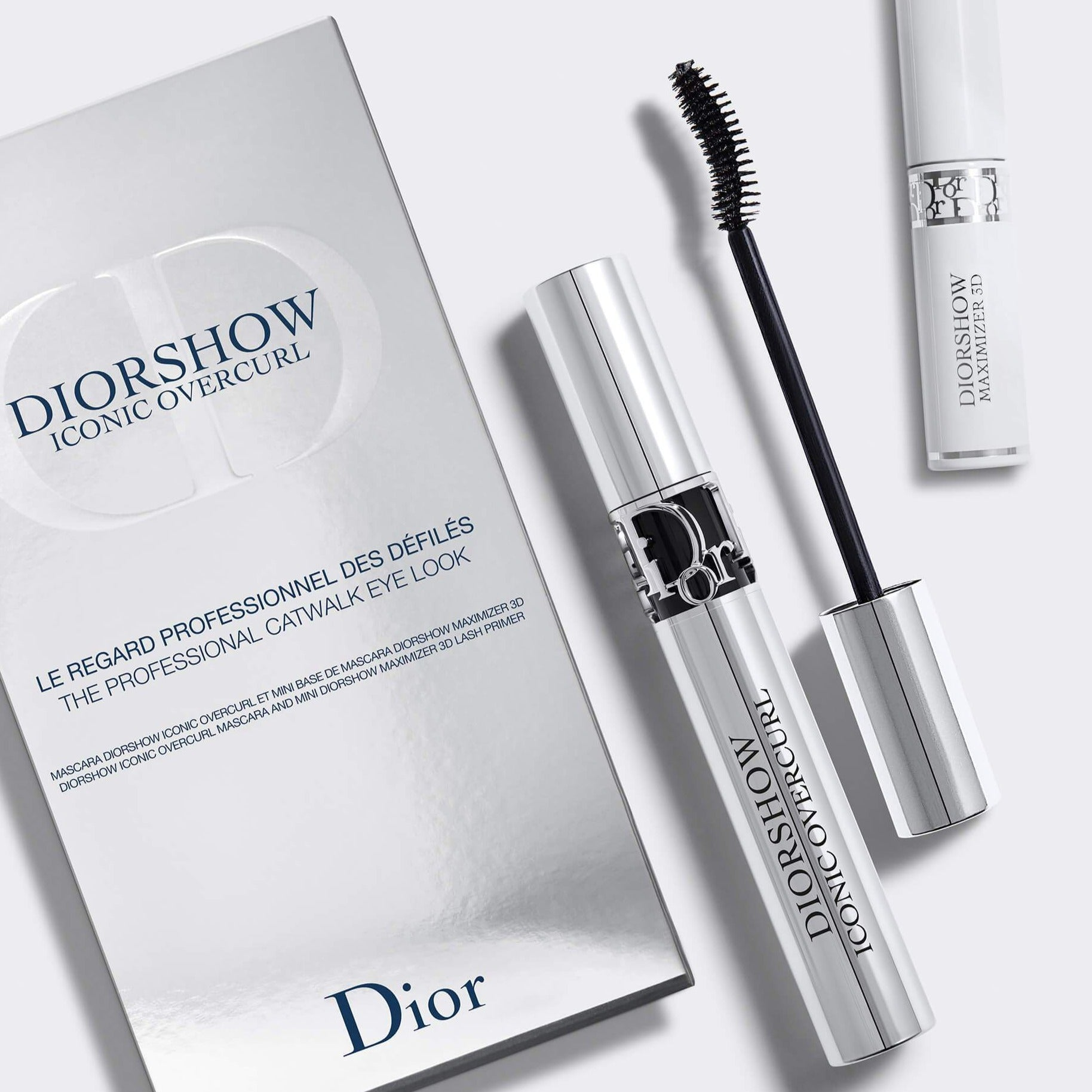 DIORSHOW ICONIC OVERCURL | Mascara and lash primer-serum set