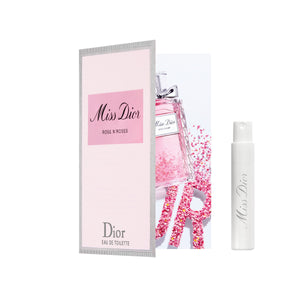 Miss Dior Rose N'Roses Eau de Toilette 1ml Sample
