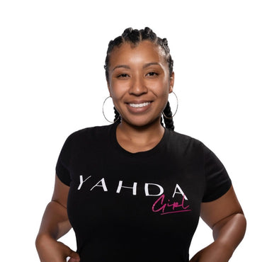 "Black ""YAHDA Girl"" T-shirt"