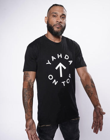 "Black ""YAHDA On Top"" Shirt"