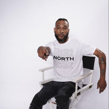 "White ""YAHDA North"" Shirt"