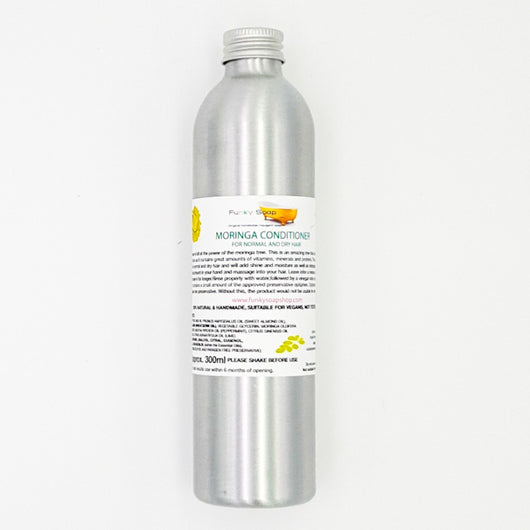 Funky Soap Normales Haar Conditioner Moringa Aluminium Flasche