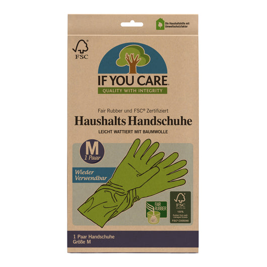 If You Care Haushalts Handschuhe M