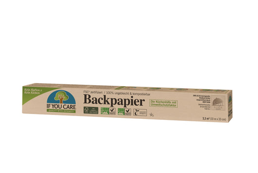 If You Care Backpapier