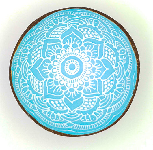 Boho up your life Coconut Bowl türkis