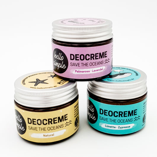 hello simple Deocreme Varianten