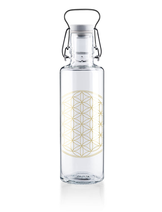 Soubottles Flower of Life Front