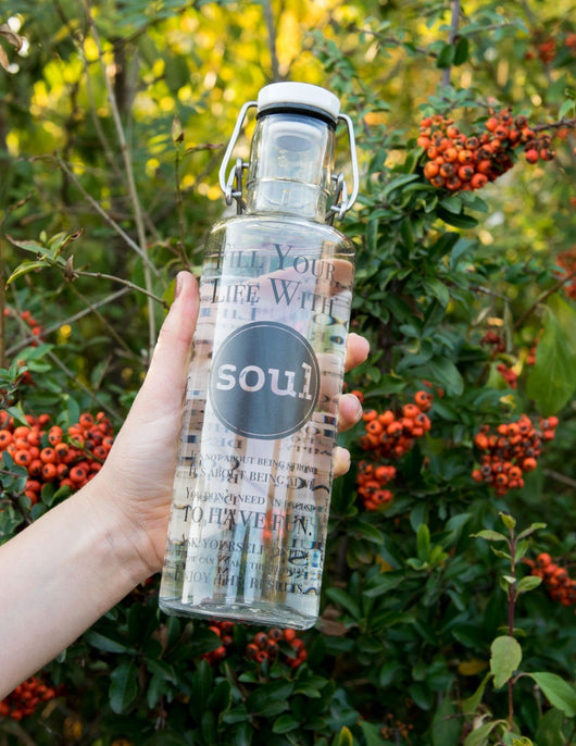 soulbottles: Fill your Life with soul, perfekt für unterwegs