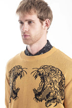 Load image into Gallery viewer, GIANNI YELLOW PANTERA SWEATER