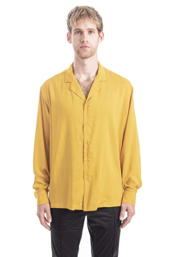 GIANNI YELLOW VERACRUZ LONG SLEEVE SHIRT