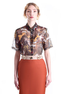 MUSK MARBLE SHORT SLEEVE SHIRT