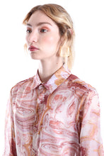 Load image into Gallery viewer, ROSE MARBLE LONG SLEEVE SHIRT