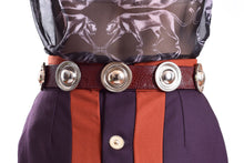 Load image into Gallery viewer, BURGUNDY WICCA BELT