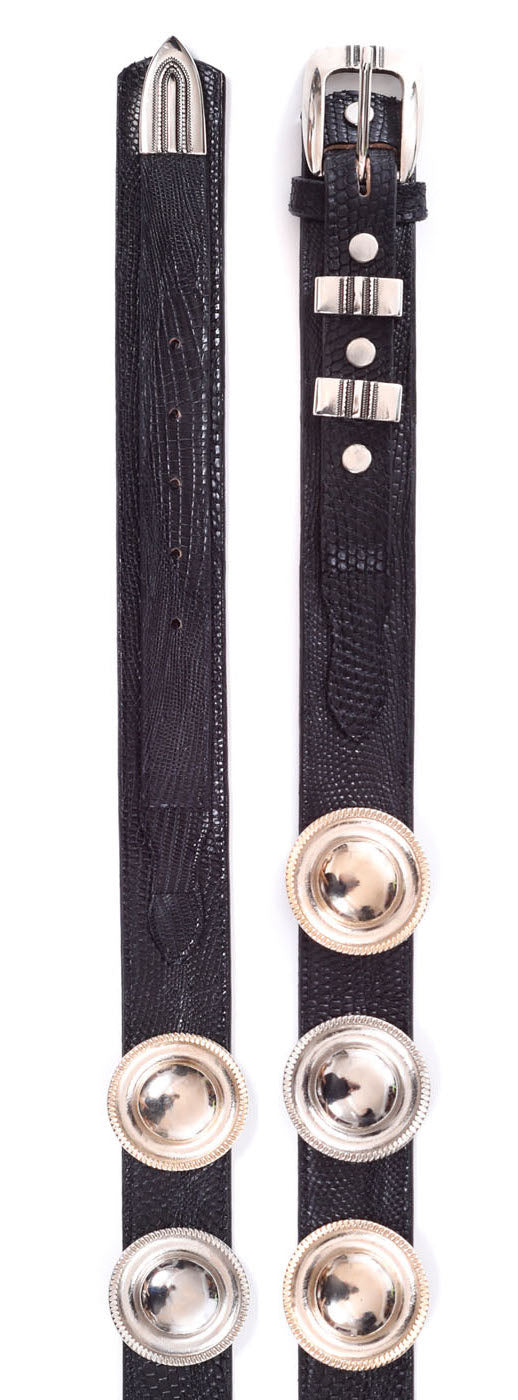 BLACK WICCA BELT
