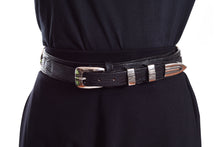Load image into Gallery viewer, BLACK WICCA BELT