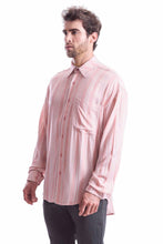 Load image into Gallery viewer, EARTHY PINK STRIPES SHIRT
