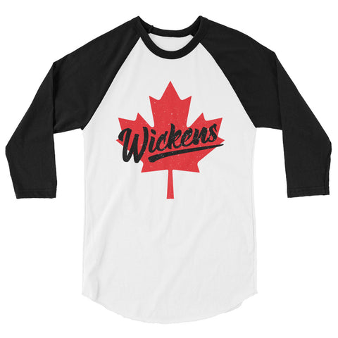 Robert Wickens Canada 3/4 sleeve raglan shirt