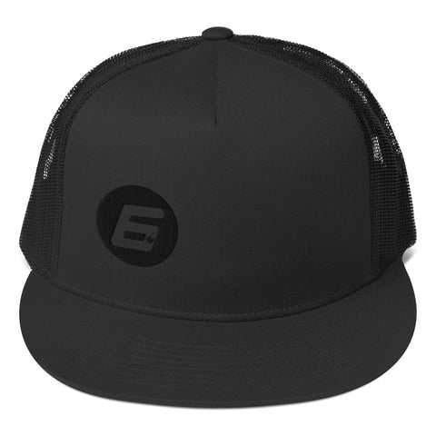 Robert Wickens The 6 Black on Black Trucker Cap