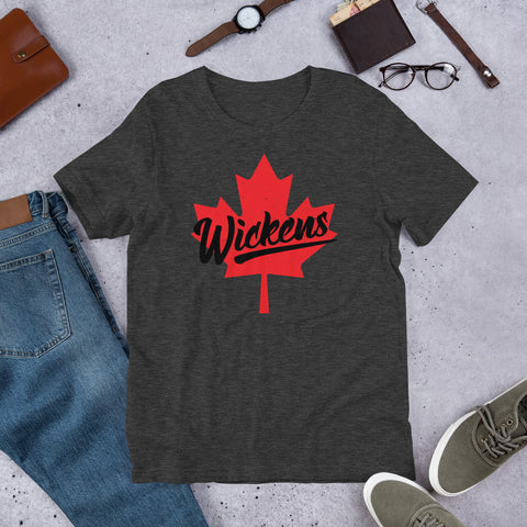 Robert Wickens Distressed Canada Short-Sleeve Unisex T-Shirt