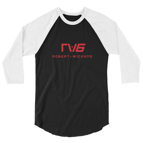 Robert Wickens RW6 3/4 sleeve raglan shirt
