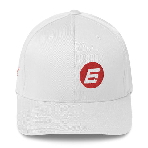 Robert Wickens The 6 FlexFit Structured Twill Cap