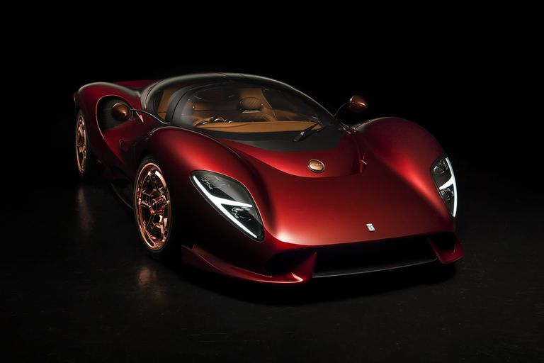 DE TOMASO IS BACK WITH THE P72