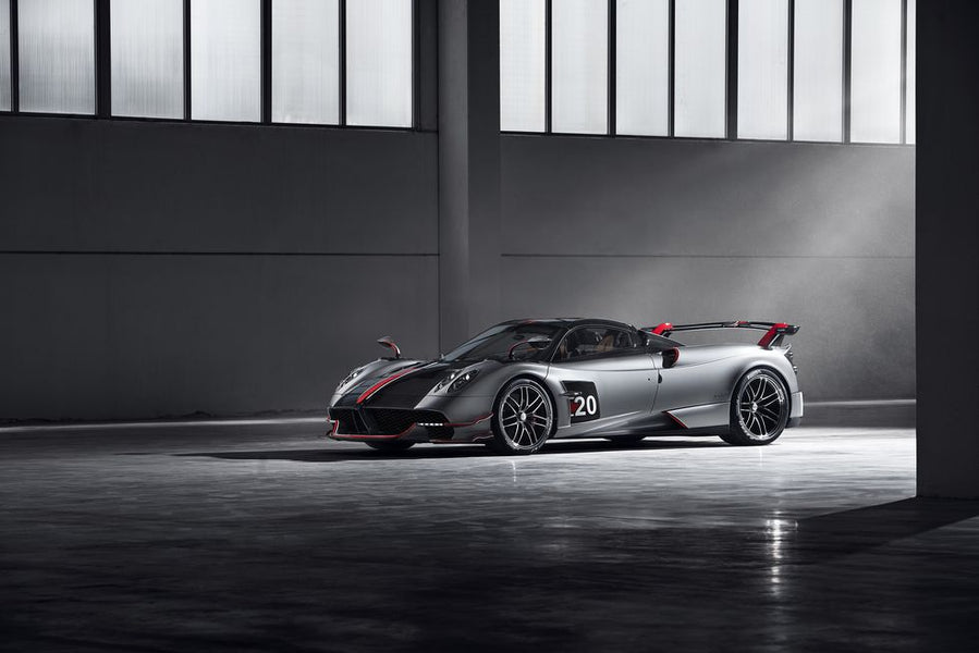 THE PAGANI HUAYRA ROADSTER BC IS THE MOST BEAUTIFUL NEW HYPERCAR