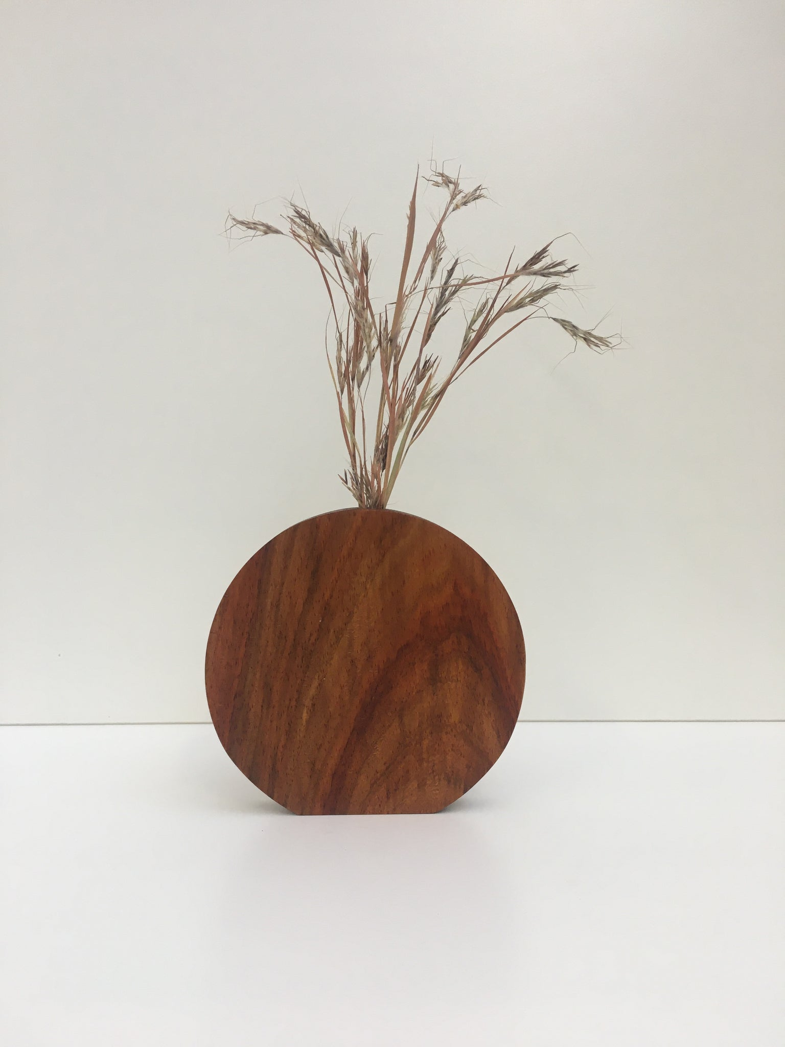 Kiaat Moon Bud Vase