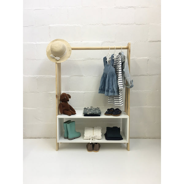 children's clothes rail