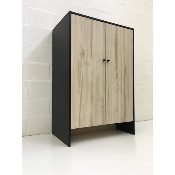 black & timber wardrobe