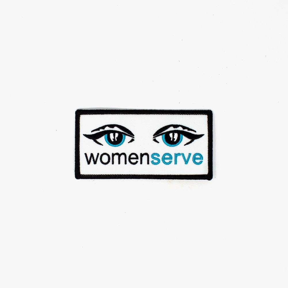 WomenServe Logo Patches - WomenServe