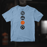 Eat Sleep BASKETBALL Repeat T-Shirt Unisex