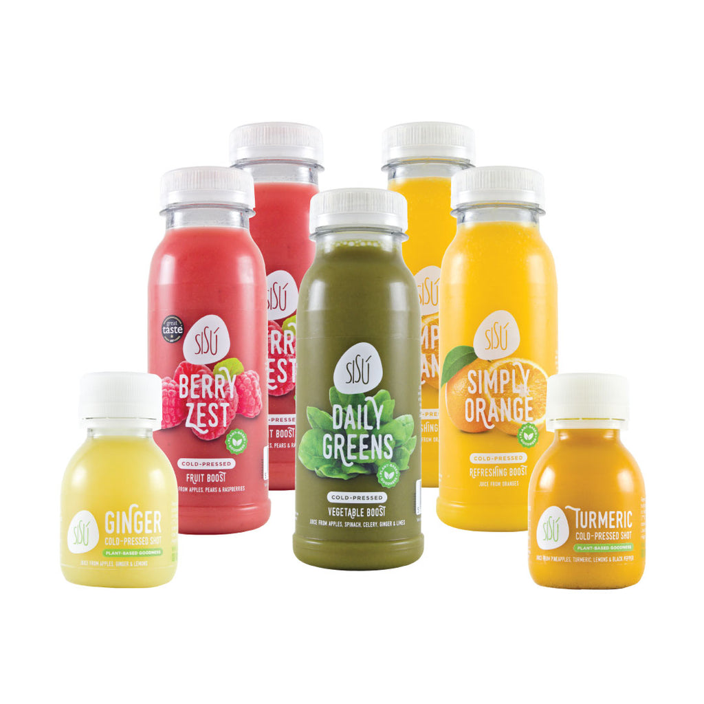 SISÚ JUICE & SHOTS SAMPLER BOX